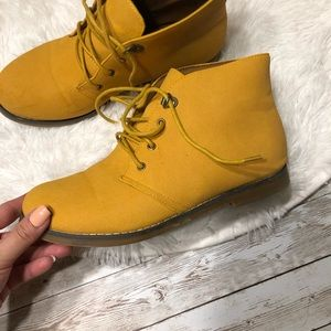 Ankle Oxford Booties